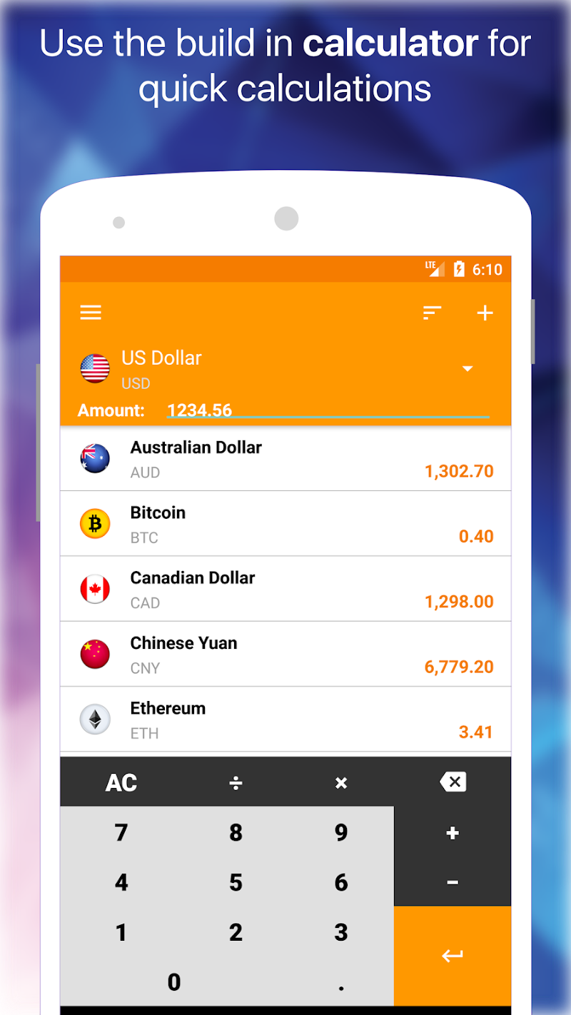 My Currency Pro - Converter Screenshot 2