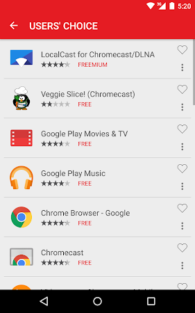 Cast Store for Chromecast Apps 0.13.2-11 screenshot 309563