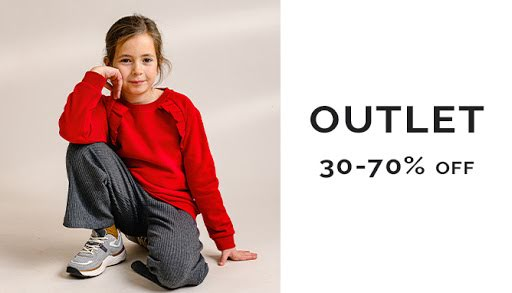 OUTLET - Children's wear to outlet prices