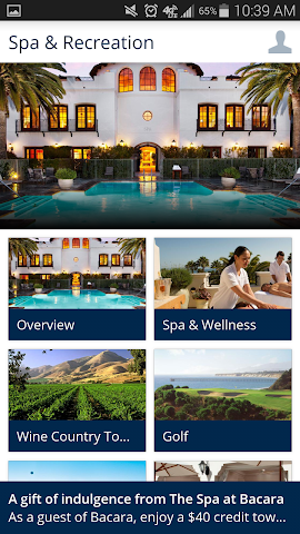 android Bacara Resort and Spa Screenshot 2