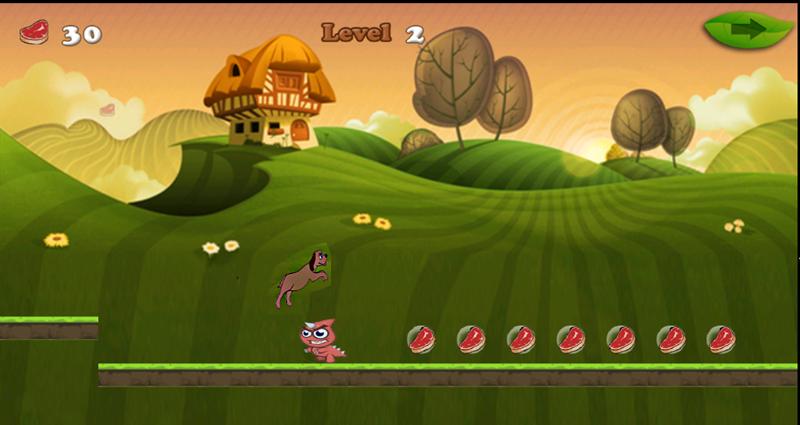 android Dog Running Adventure Screenshot 3