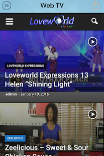 Loveworld Plus Mobile- screenshot thumbnail