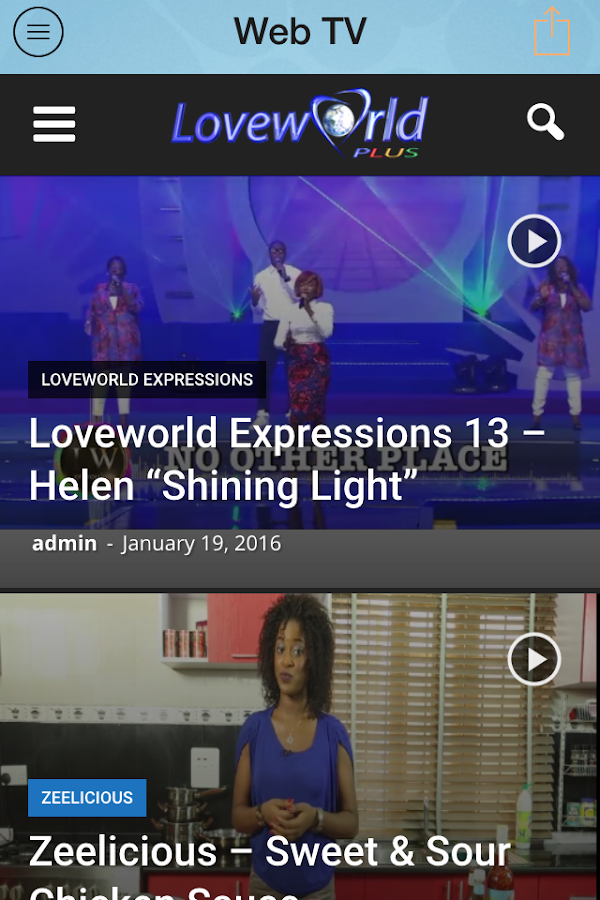 Loveworld Plus Mobile- screenshot