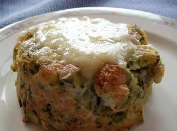 Twice-Baked Gruyere and Potato Souffle
