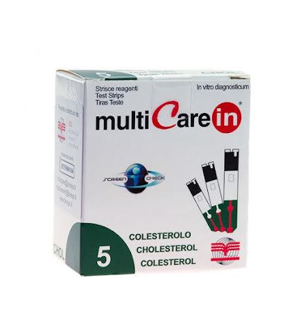 Kolesterolstickor till MultiCare IN 5st
