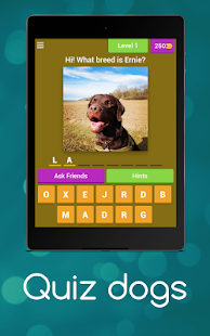 The Dog Picture Quiz - By Ernie And Berti- screenshot thumbnail