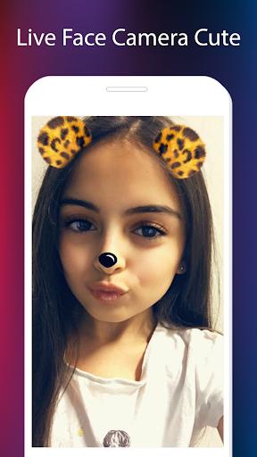 Sweet Face Cam & Snap Sticker screenshot 5