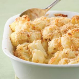 Cauliflower with New Mornay Sauce