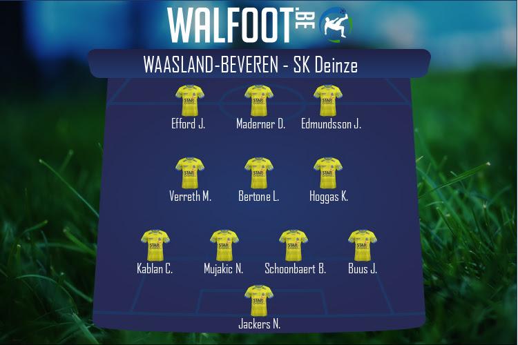 Waasland-Beveren (Waasland-Beveren - SK Deinze)
