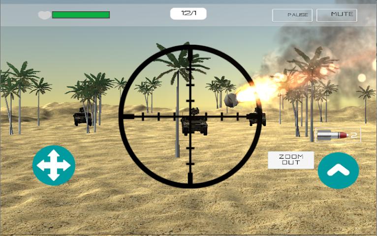 android Desert War Screenshot 5