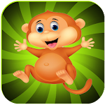 Monkey Jump Jump Jump Free Icon