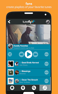 Tunefly - Discover Local Music- screenshot thumbnail
