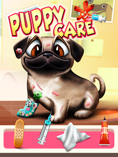 Puppy Pet Vet Doctor Kids Game