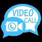 Videotelefonie-App icon