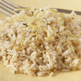 Lemon Herbed Rice.