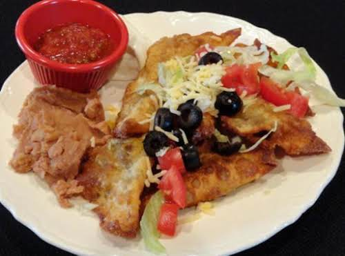 "Fried Wonton Tacos ""We were having tacos for dinner, had wontons in..."