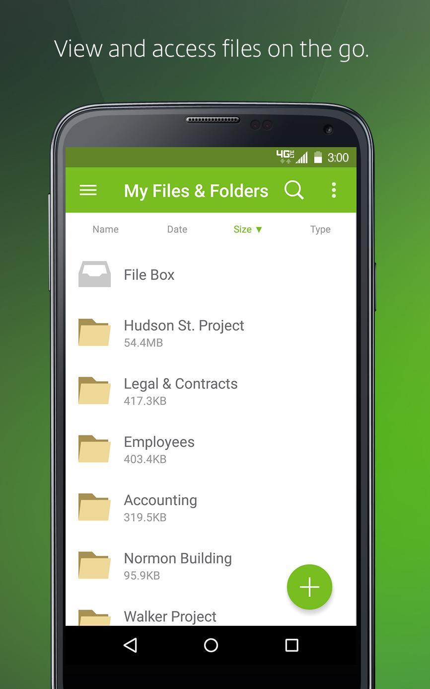 Citrix ShareFile for Tablets screenshot #1