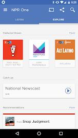 NPR One Screenshot 2