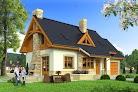 projekt domu Agatka II z garażem 1-st. A