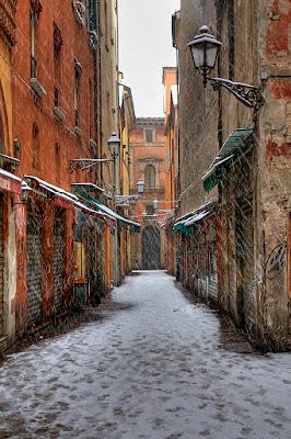 Nevica sulla strada solitaria di Mullahomark86