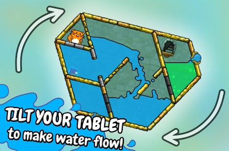 Hasty Hamster - A Water Puzzle- screenshot thumbnail