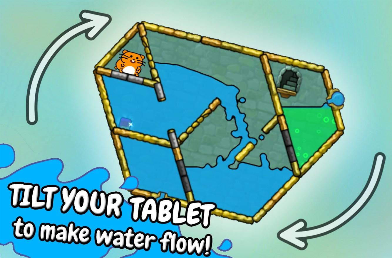 Hasty Hamster - A Water Puzzle- screenshot