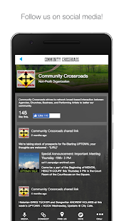 COMMUNITY CROSSROADS- screenshot thumbnail