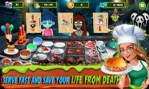 Restaurant Mania : Zombie Kitchen - náhled