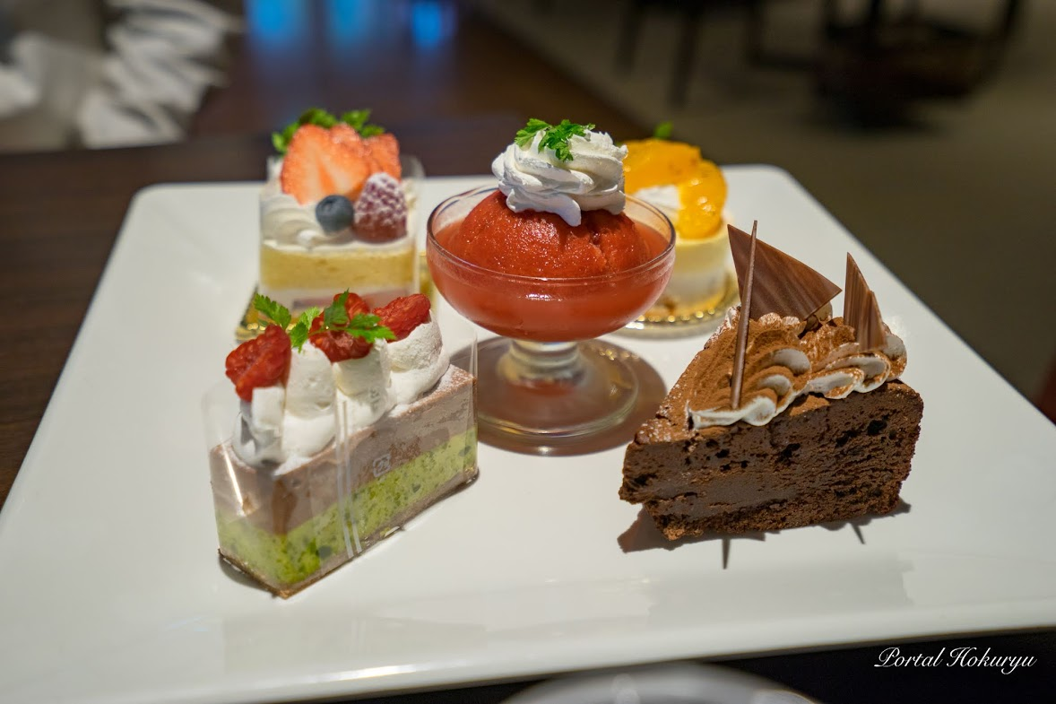5種類のケーキ