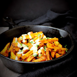 Baked Plantain Fries.