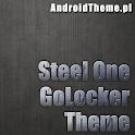 Steel One HD GO Locker Theme icon