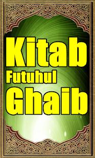Kitab Futuhul Ghaib - náhled