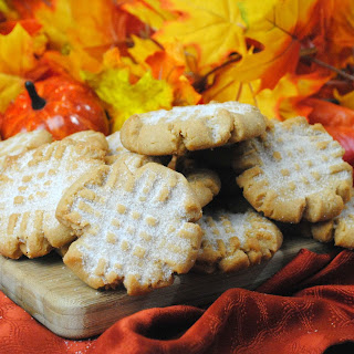 Pumpkin Spice Peanut Butter Cookie
