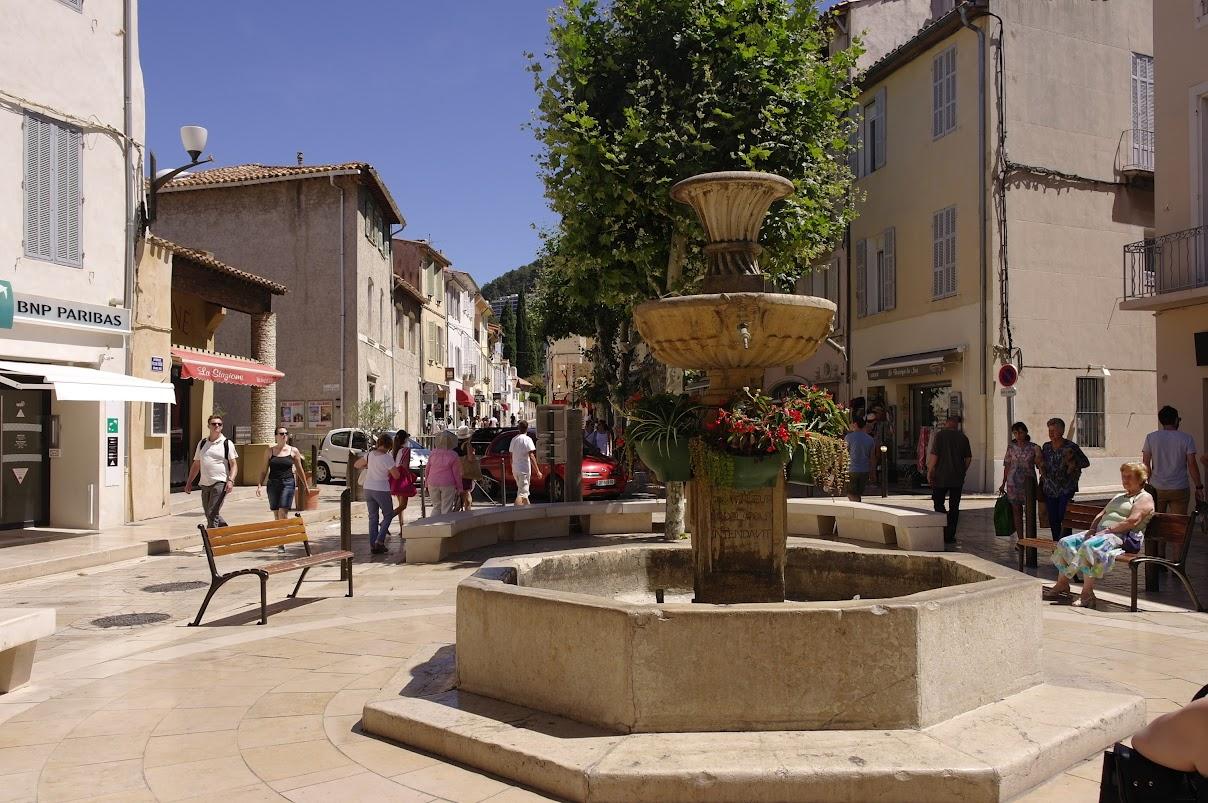 Фонтан 4-х наций, Кассис - путеводитель по городу Кассис, Прованс, Франция