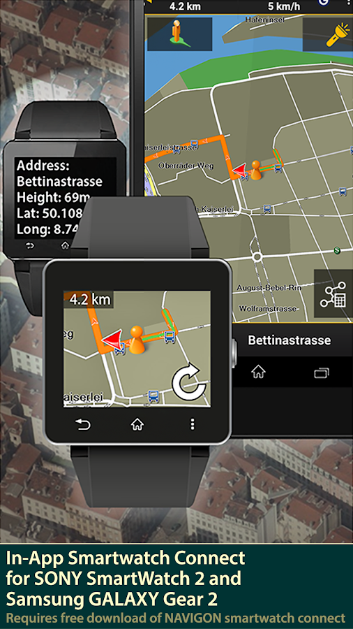 NAVIGON DACH- screenshot