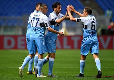 La Lazio Rome s'est imposée 2-0 contre Parme