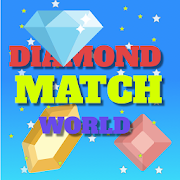 Diamond Match World: Mind game