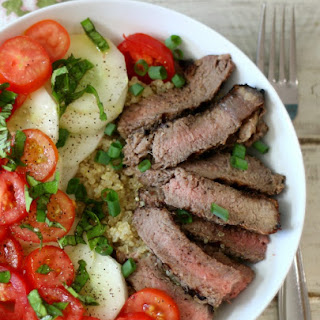Steak & Quinoa Protein Bowl.