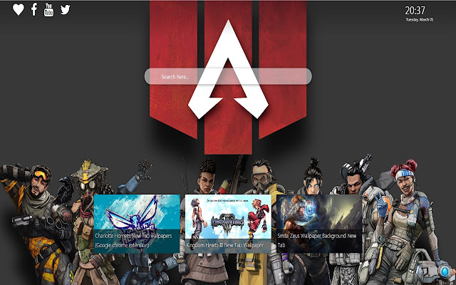Apex Legends Wallpapers New Tab