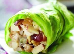Chicken Apple Wraps Recipe