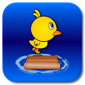 Chicken Crossing River icon