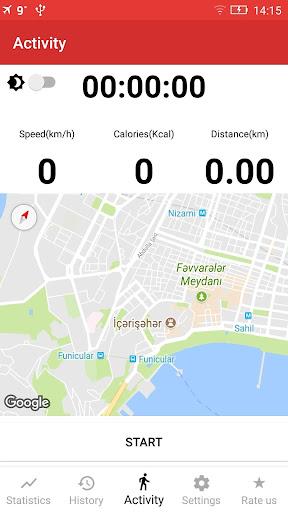 Walking GPS fitness tracker 2.0 screenshots 7