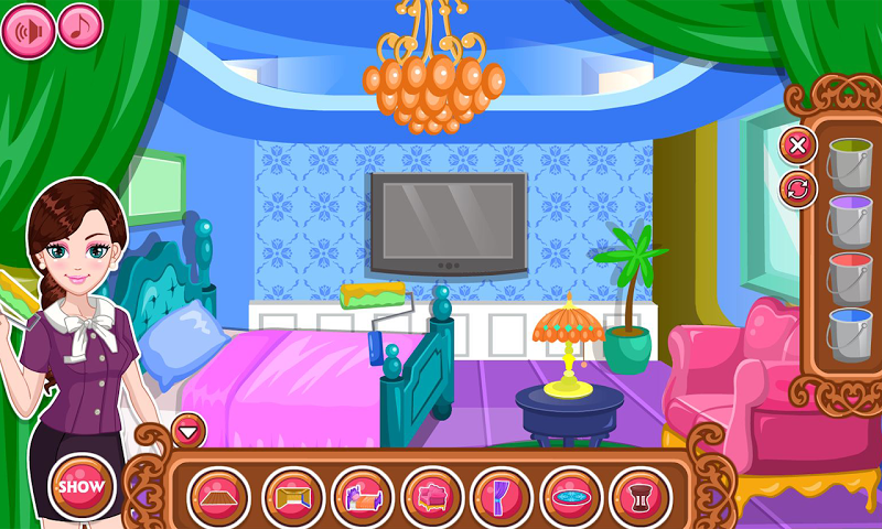 android Hotel Room Makeover Screenshot 3
