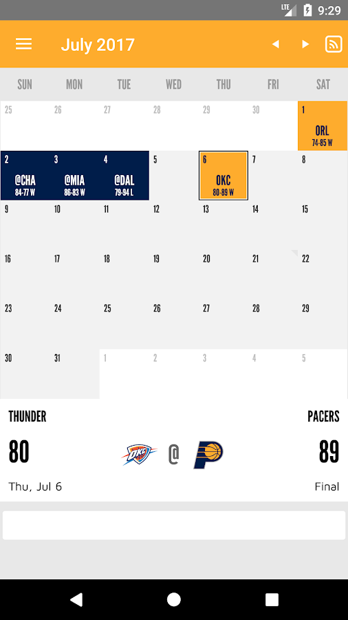 Indiana Pacers- screenshot