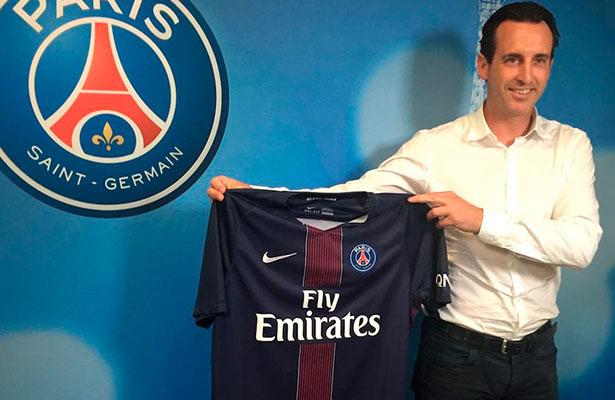 Unai Emery, nuevo técnico del PSG