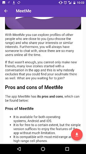 MeetD: Dating apps for singles 2.1.1 screenshots 3