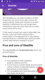 MeetD: datování pro nezadané - náhled