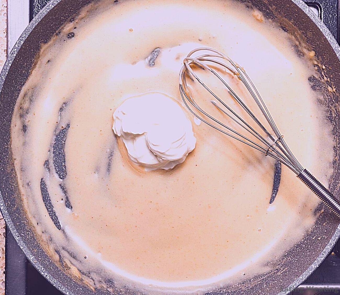 Sour Cream and Onion Pasta