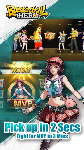 Basketball Hero-Freestyle 2 mobile 3on3 MOBA 1.2.1 screenshots 3