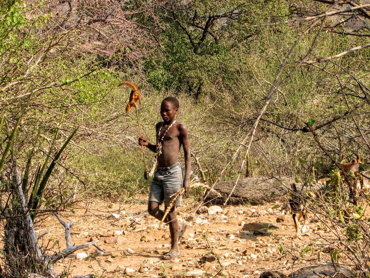 Kid avec mangouste
